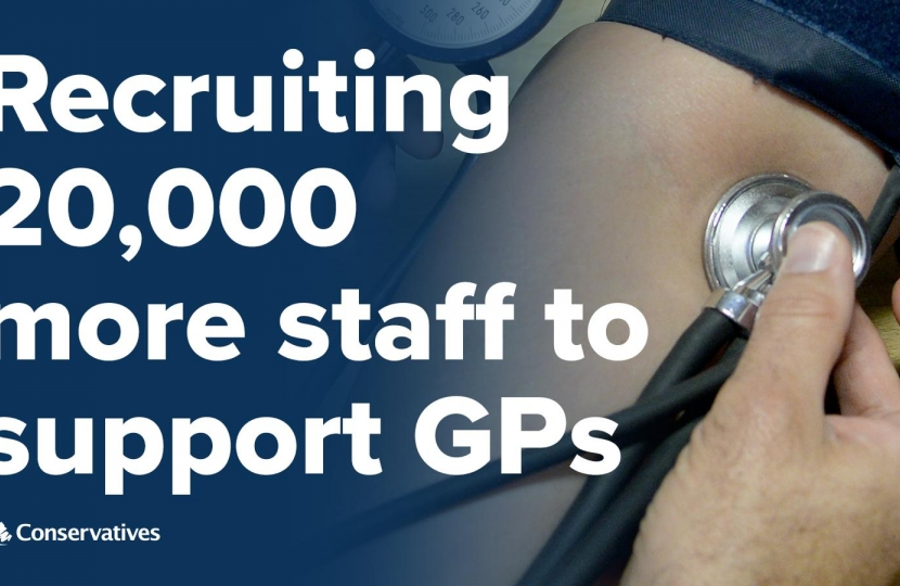 Recruiting 20000 more NHS Staff