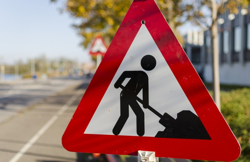 Cambridgeshire County Council is fixing local roads