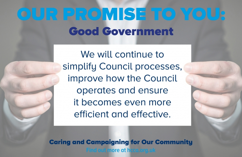 Our Promise - Efficiency