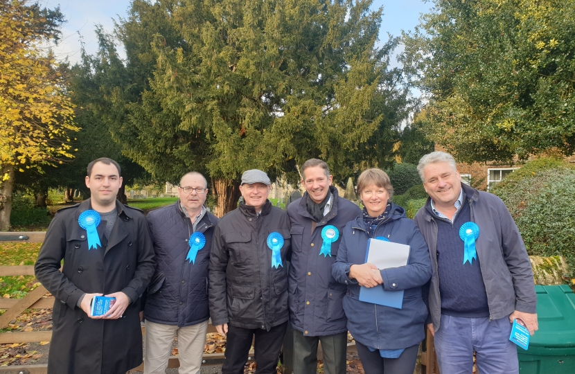 Huntingdon Conservative Ian Gardener by-Election