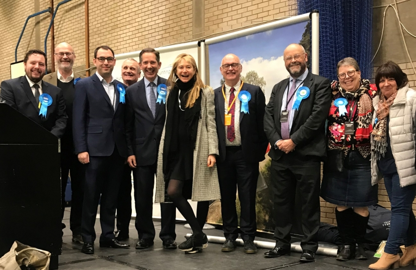Jonathan Djanogly Huntingdon Conservative Count Victory Team