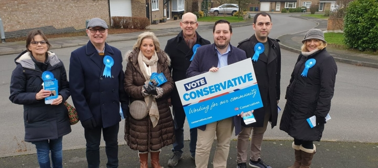 Huntingdon Conservative St Ives East Election Win