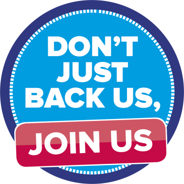 dont just back us - join us